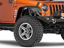 Poison Spyder Front Vented Inner Fenders; SpyderShell Armor Coat (07-18 Jeep Wrangler JK)