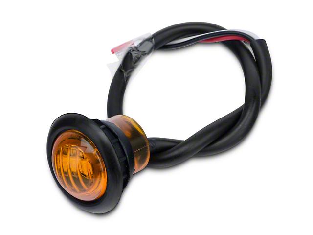 Poison Spyder 3/4 in. Amber LED Marker Lamp (07-18 Jeep Wrangler JK)