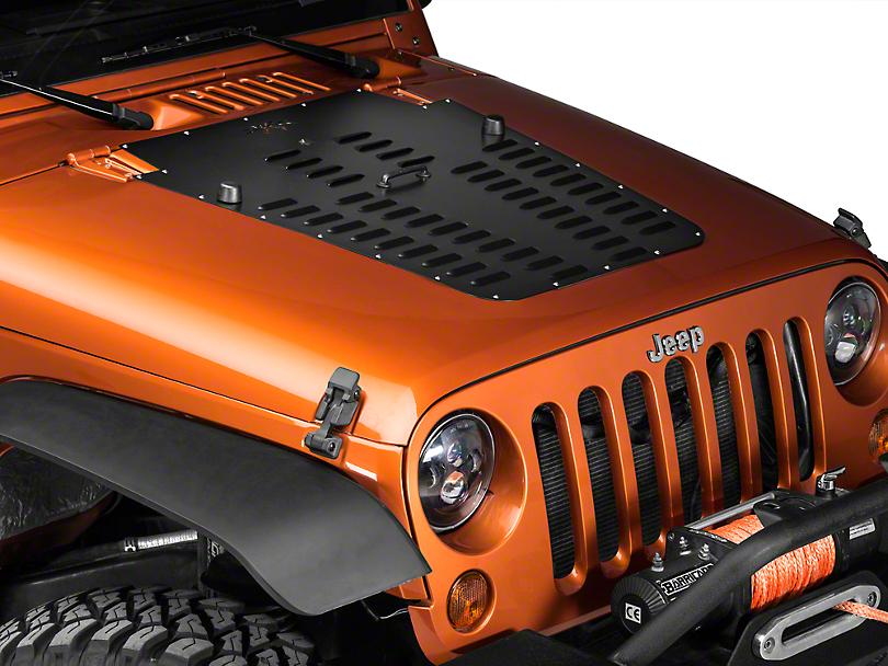 Poison Spyder Jeep Wrangler Hood Louver Black 17 53 010