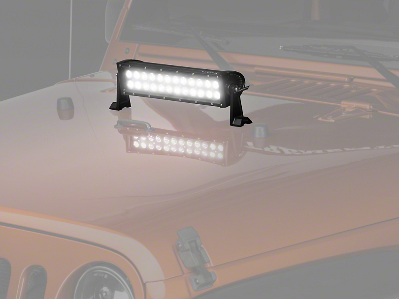 Raxiom 15 in. Dual Row LED Light Bar - Flood/Spot Combo (87-18 Wrangler YJ, TJ & JK)