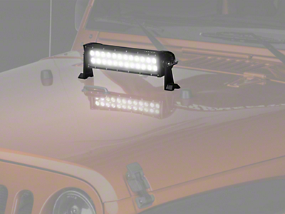 Raxiom 15 in. Dual Row LED Light Bar - Flood/Spot Combo (87-18 Wrangler YJ, TJ, JK & JL)