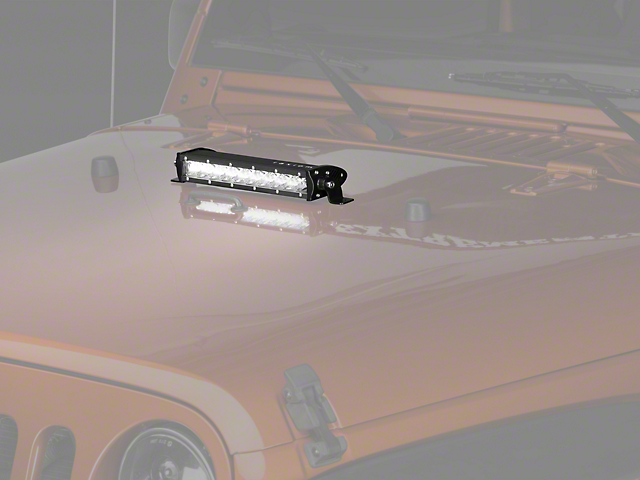 Raxiom 13.20-Inch Slim LED Light Bar; Flood/Spot Combo Beam