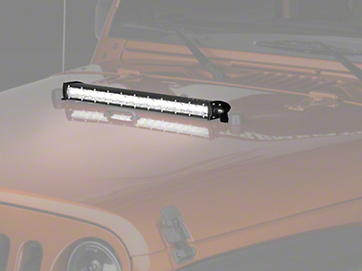 Raxiom 23.3 in. Slim LED Light Bar - Flood/Spot Combo (87-19 Jeep Wrangler YJ, TJ, JK & JL)