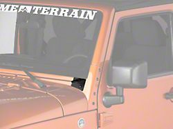 Raxiom Windshield Mounted Light Brackets (07-18 Jeep Wrangler JK)