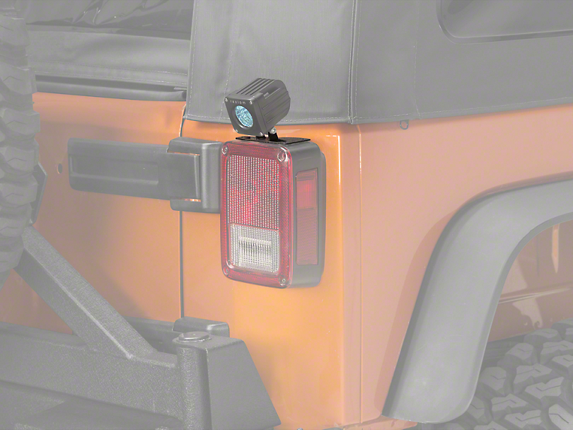 Raxiom Tail Light Mounting Brackets (07-18 Jeep Wrangler JK)