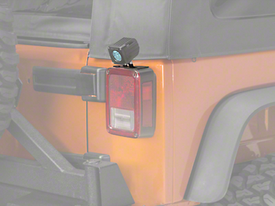 Raxiom Tail Light Mounting Brackets (07-18 Wrangler JK)