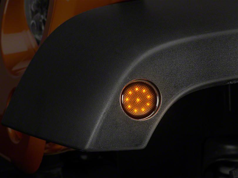 Raxiom Smoked LED Side Marker (07-18 Wrangler JK)