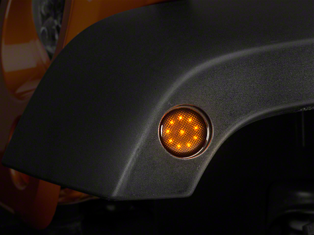 Raxiom Smoked LED Side Marker (07-18 Jeep Wrangler JK)
