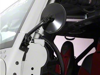Smittybilt 6/' Trail Mirrors Round for Jeep Wrangler TJ JK 1997-2015 7618 S//B7618