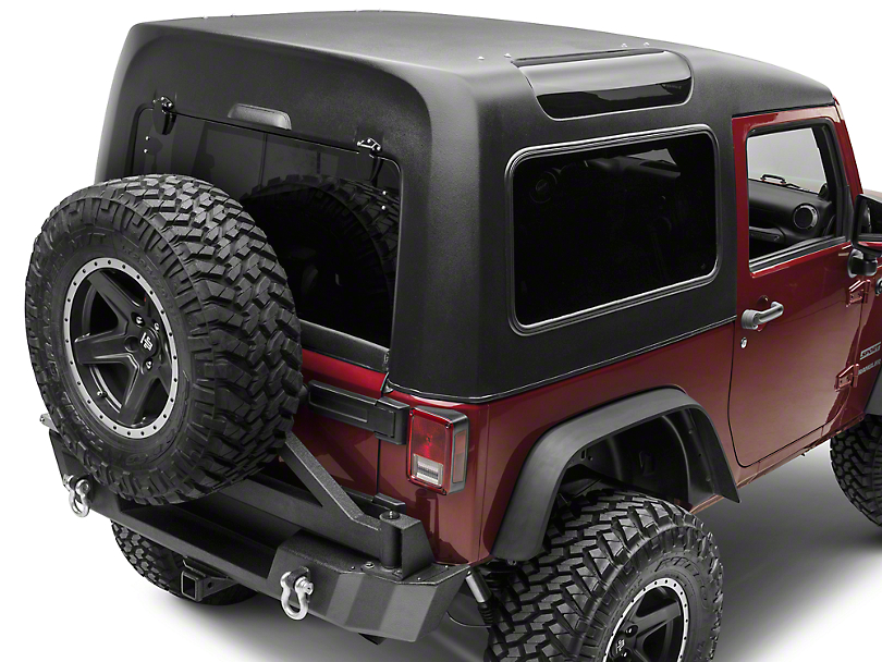 Smittybilt Safari Hard Top (07-18 Jeep Wrangler JK 2 Door)