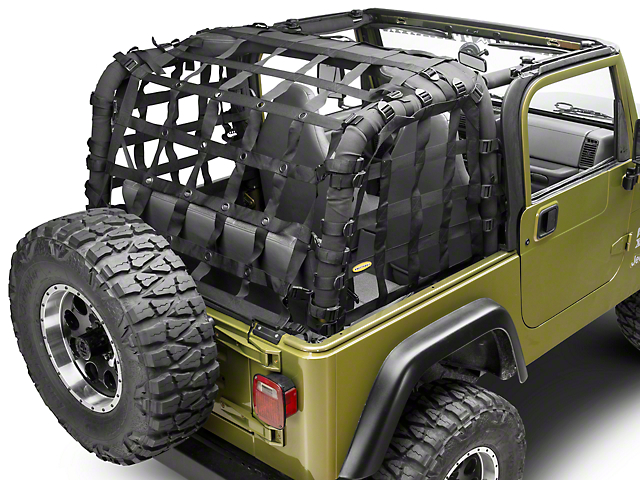 Smittybilt C-RES2 Cargo Restraint System (97-06 Jeep Wrangler TJ, Excluding Unlimited)