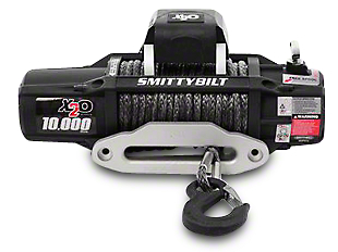 Smittybilt Gen2 X2O 10,000 lb. Winch w/ Synthetic Rope & Wireless Control (87-19 Jeep Wrangler YJ, TJ, JK & JL)