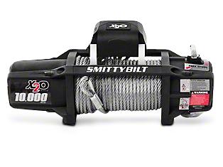 Smittybilt Gen2 X2O 10,000 lb. Winch w/ Wireless Control (87-19 Jeep Wrangler YJ, TJ, JK & JL)