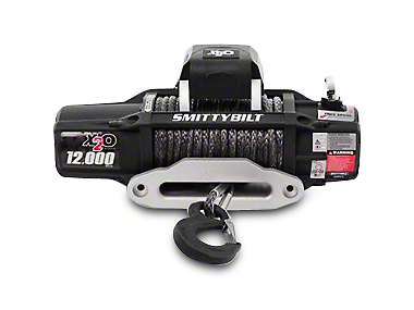 Smittybilt Gen2 X2O 12,000 lb. Winch w/ Synthetic Rope & Wireless Control (87-17 All)