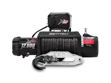 Smittybilt Gen2 XRC 12,000 lb. Winch w/ Synthetic Rope