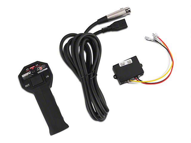 smittybilt jeep wrangler winch remote control w transmitter 97510 50 Trailer Winch Wiring Diagram