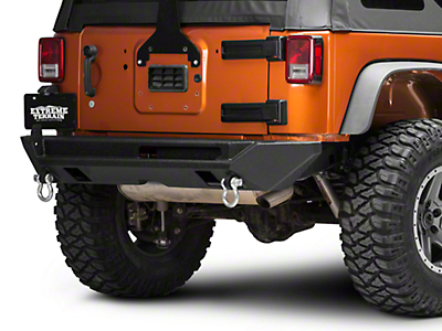 Body Armor 4x4 PRO-Series Rear Bumper (07-18 Jeep Wrangler JK)