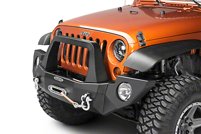 Rock-Slide Engineering Aluminum Rigid Full Front Bumper (07-18 Wrangler JK)