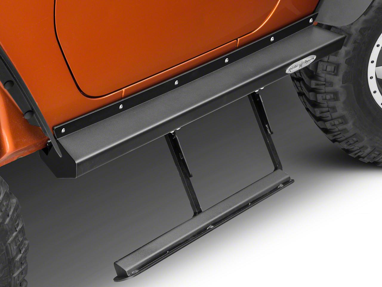Rock-Slide Engineering Step Sliders (07-18 Jeep Wrangler JK 2 Door)