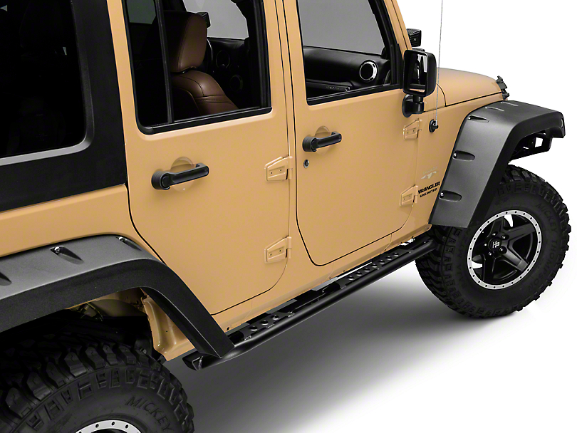 LoD Offroad Signature Series Rock Sliders (07-18 Wrangler JK 4 Door)