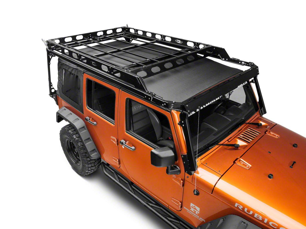 Lod Offroad Wrangler Sliding Roof Rack Jrr0741 07 18 Jeep