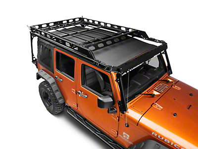 LoD Offroad Sliding Roof Rack (07-17 Wrangler JK 4 Door)