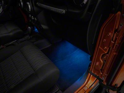 Rugged Ridge Interior LED Courtesy Lighting Kit (07-18 Jeep Wrangler JK; 2018 Jeep Wrangler JL)