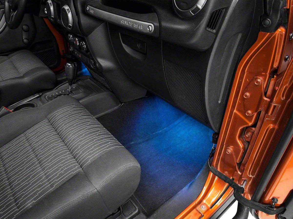Rugged Ridge Interior Led Courtesy Lighting Kit 07 20 Jeep Wrangler Jk Jl