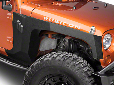 DV8 Off-Road Armor Fenders (07-18 Wrangler JK 4 Door)