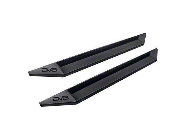 DV8 Off-Road SR-10 Rock Slider Steps - Black (07-18 Wrangler JK 4 Door)