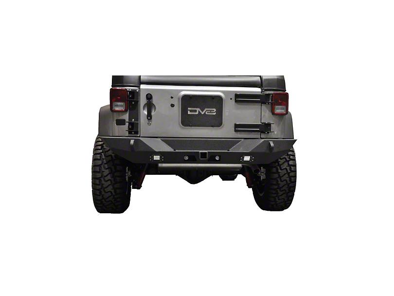 DV8 Off-Road RS-10 Rear Bumper (07-18 Jeep Wrangler JK)