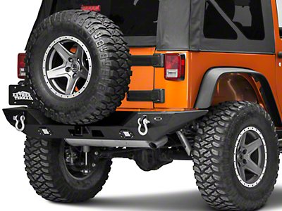 DV8 Off-Road RS-10 Rear Bumper (07-18 Wrangler JK)