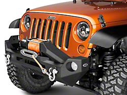 DV8 Off-Road FS-17 Hammer Forged Front Bumper (07-18 Jeep Wrangler JK)