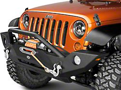 DV8 Off-Road FS-18 Hammer Forged Front Bumper (07-18 Jeep Wrangler JK)