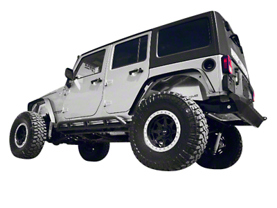DV8 Off-Road Rock Runner 3.5 in. Lift Kit w/ Shocks & Track Bars (07-18 Jeep Wrangler JK)