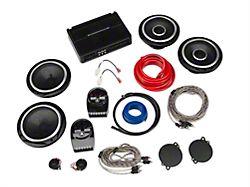 9d183229829 JL Audio Factory Speaker Upgrade Kit - Front & Rear Speakers w/ Amplifier  (07