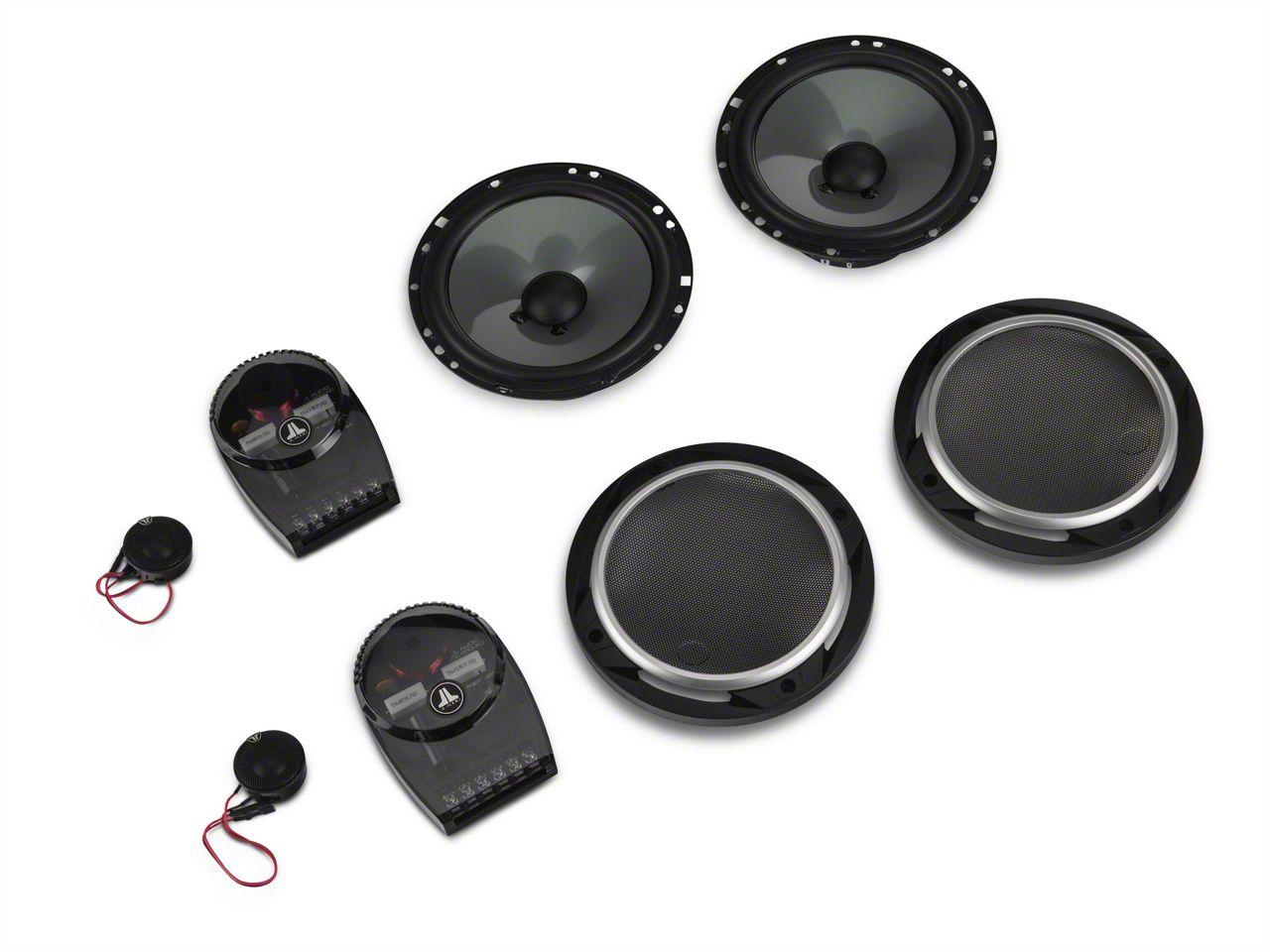 JL Audio 6.5 in. 2-Way Component Speaker System (87-18 Jeep Wrangler YJ, TJ & JK)