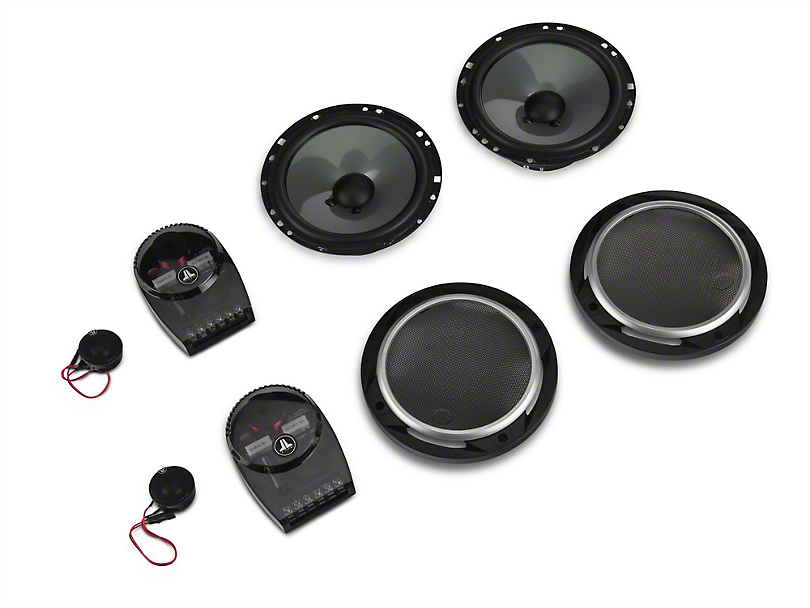 JL Audio 6.5 in. 2-Way Component Speaker System (87-18 Jeep Wrangler YJ, TJ & JK)