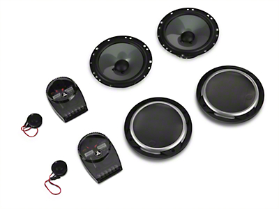JL Audio 6.5 in. 2-Way Component Speaker System (87-18 Wrangler YJ, TJ, JK & JL)