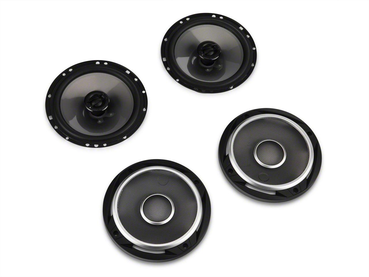 JL Audio 6.5 in. Coaxial Speaker System (87-19 Jeep Wrangler YJ, TJ, JK & JL)