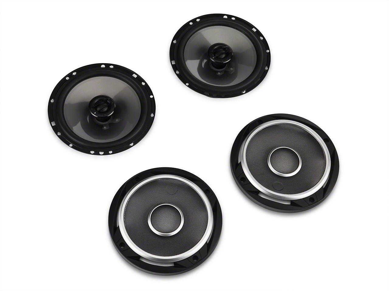 JL Audio 6.5 in. Coaxial Speaker System (87-18 Jeep Wrangler YJ, TJ, JK & JL)