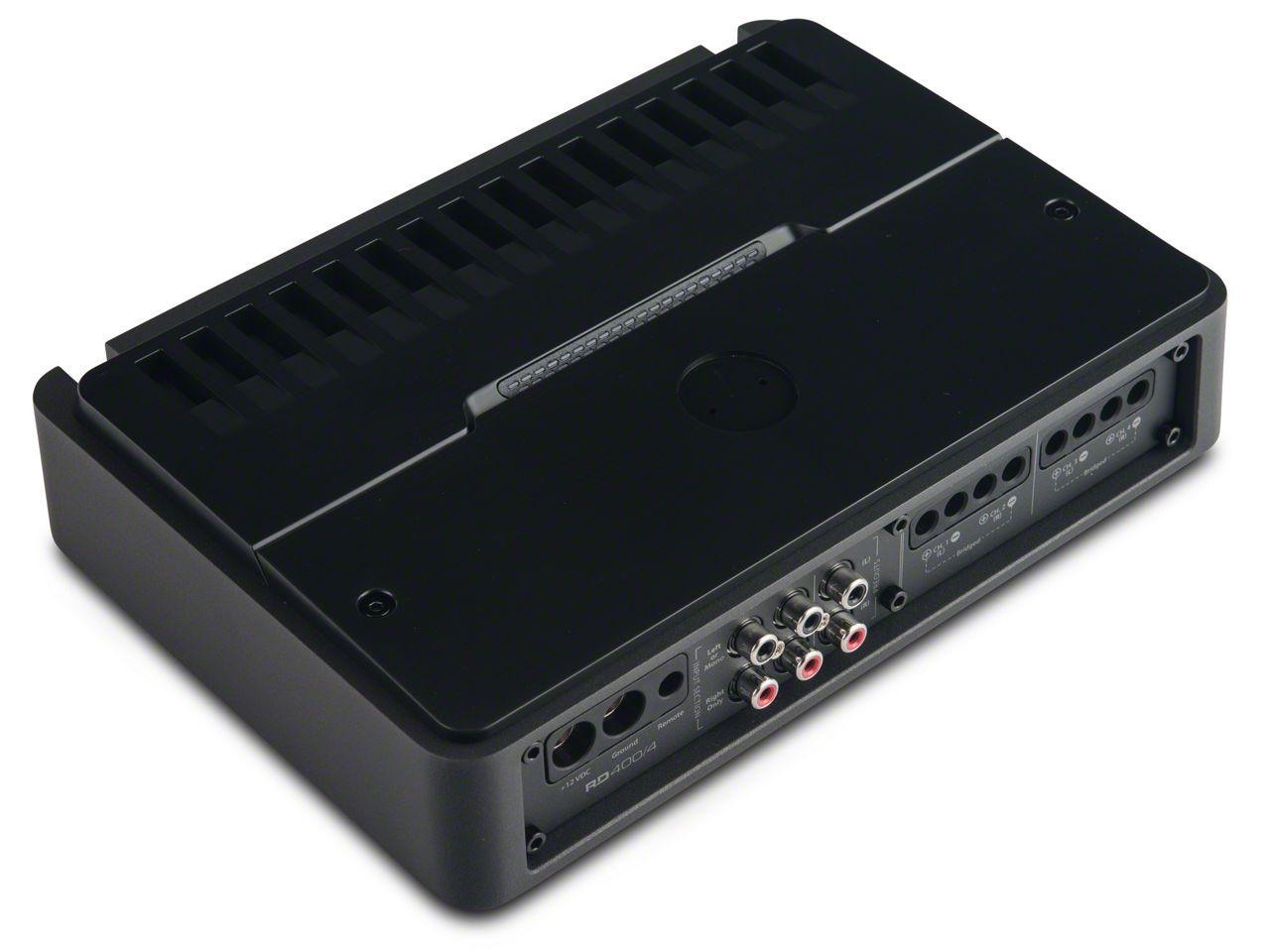 JL Audio 400W 4-Channel Class D Full-Range Amplifier (87-19 Jeep Wrangler YJ, TJ, JK & JL)