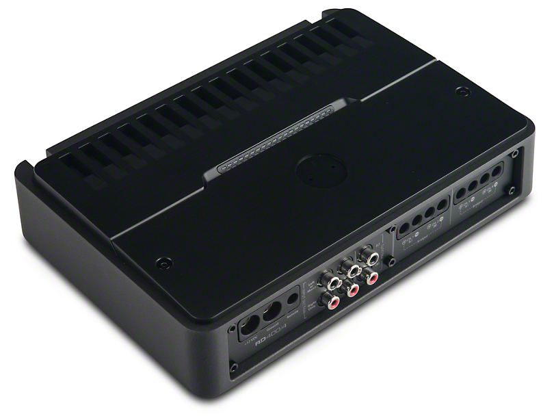 JL Audio 400W 4-Channel Class D Full-Range Amplifier (87-18 Wrangler YJ, TJ, JK & JL)