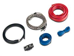 JL Audio Single Amplifier Connection Kit - 60A Capacity (87-20 Jeep Wrangler YJ, TJ, JK & JL)