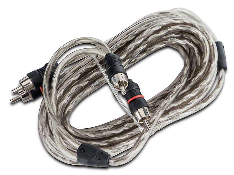 JL Audio 2-Channel Core Audio Interconnect Cable - 18 ft. (87-20 Jeep Wrangler YJ, TJ, JK & JL)