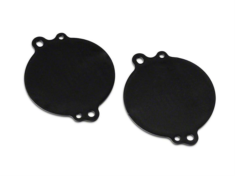Tweeter Adapter Plates (15-18 Jeep Wrangler JK)