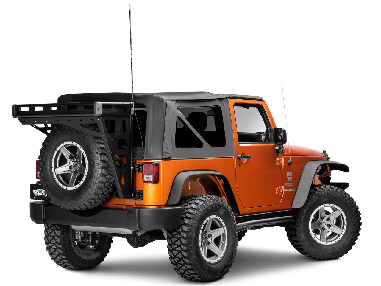 Teraflex Alta Cargo Rack CB Antenna Mount Kit (07 18 Jeep Wrangler JK)  $28.49