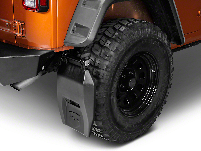 Teraflex Transit Mud Flap Kit (07-18 Wrangler JK)