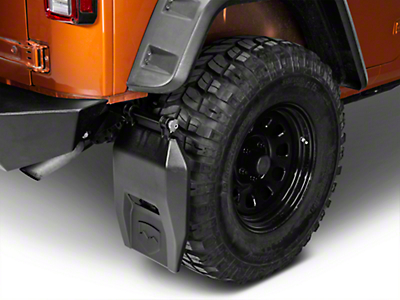 Teraflex Transit Mud Flap Kit (07-18 Jeep Wrangler JK)