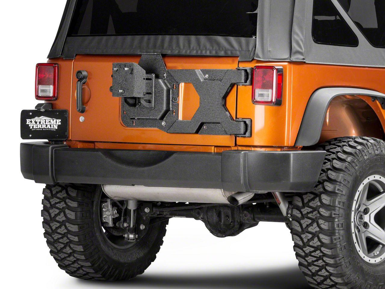 Captivating Barricade Jeep Wrangler HD Tire Carrier W/ Mount J106892 (07 18 Jeep  Wrangler JK)   Free Shipping